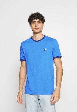 RINGER  - Basic T-shirt - yale blue/ navy
