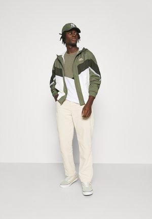 JCOPENN TEE CREW NECK 3 PACK - T-Shirt print - light grey melange