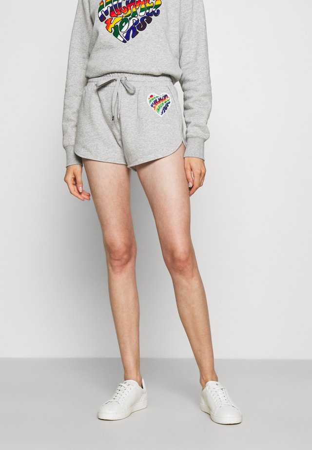 RAINBOW PATCH - Shorts - pearl heather