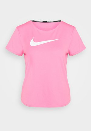 RUN - Camiseta estampada - pink glow/white