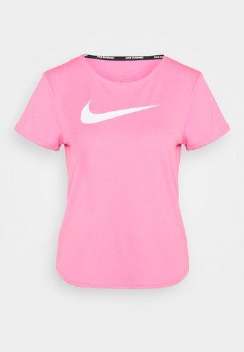 RUN - T-shirt imprimé - pink glow/white