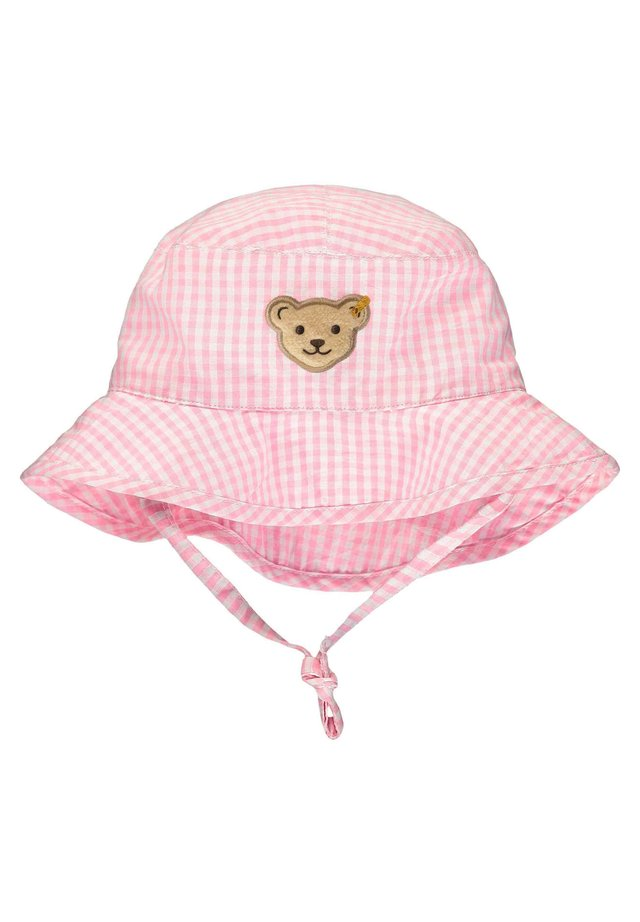STEIFF COLLECTION HUT MIT KARO-MUSTER - Hoed - barely pink