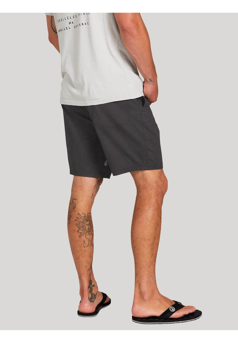 Volcom - MONGROL  - Shorts - dark_charcoal