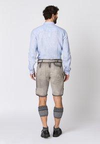 Stockerpoint - Leather trousers - rauch geäscht - 2