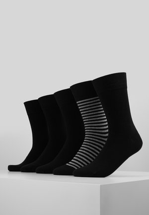 FIT 5PACK - Socks - black