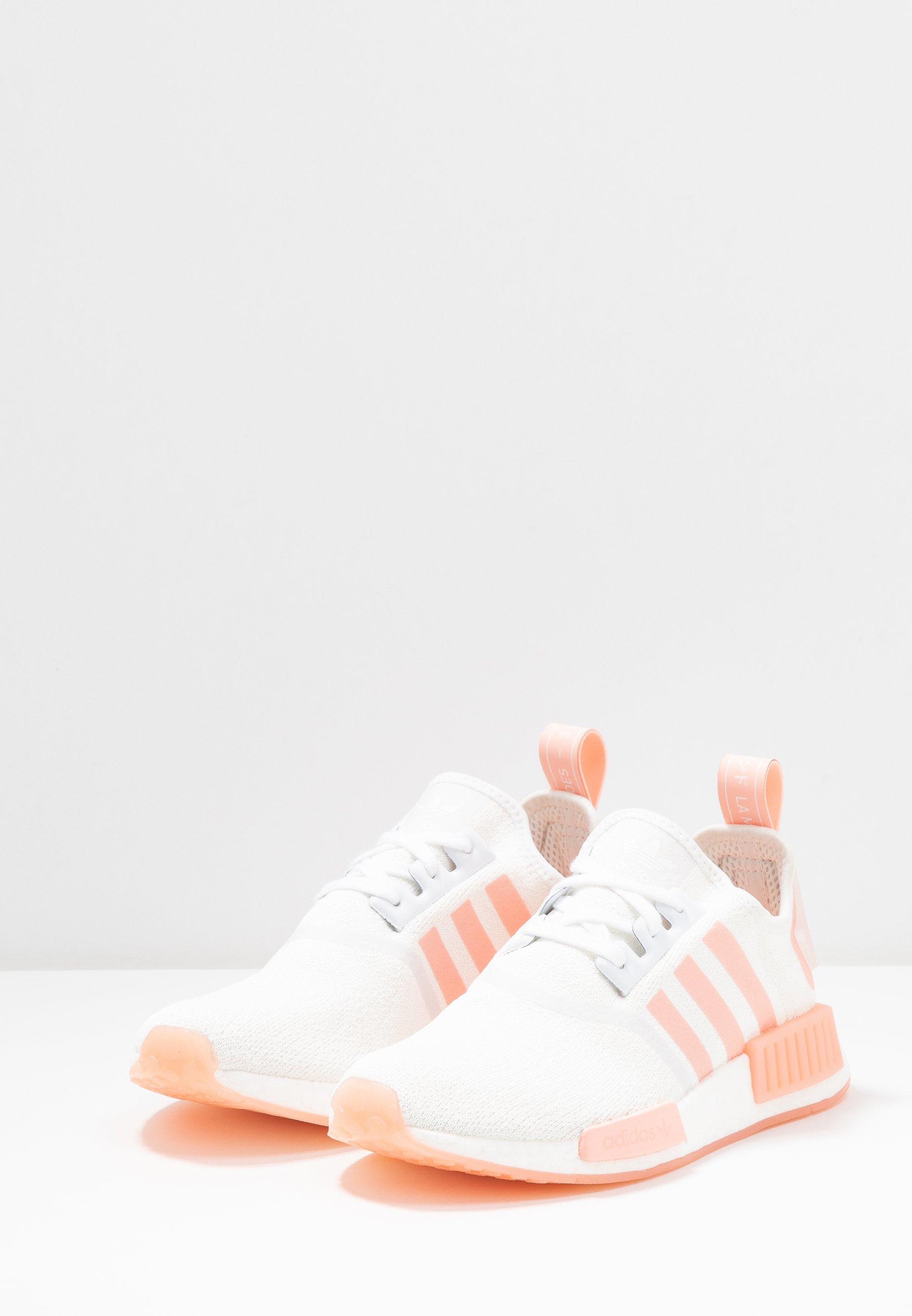 adidas Originals NMD_R1 - Baskets basses - footwear white/haze ...