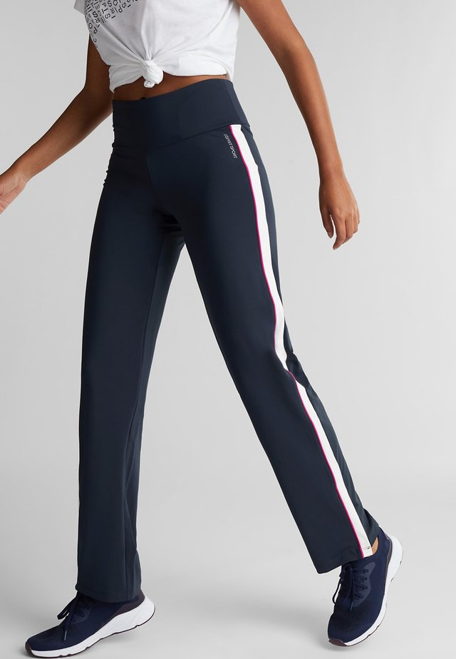 E-DRY - Trainingsbroek - navy