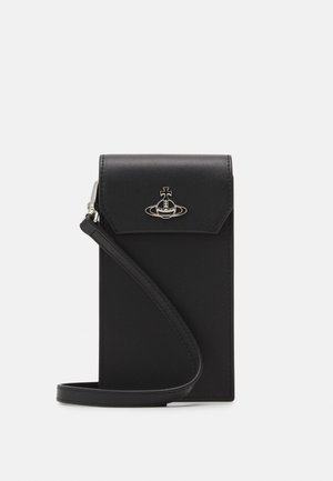 DEBBIE PHONE BAG UNISEX - Phone case - black