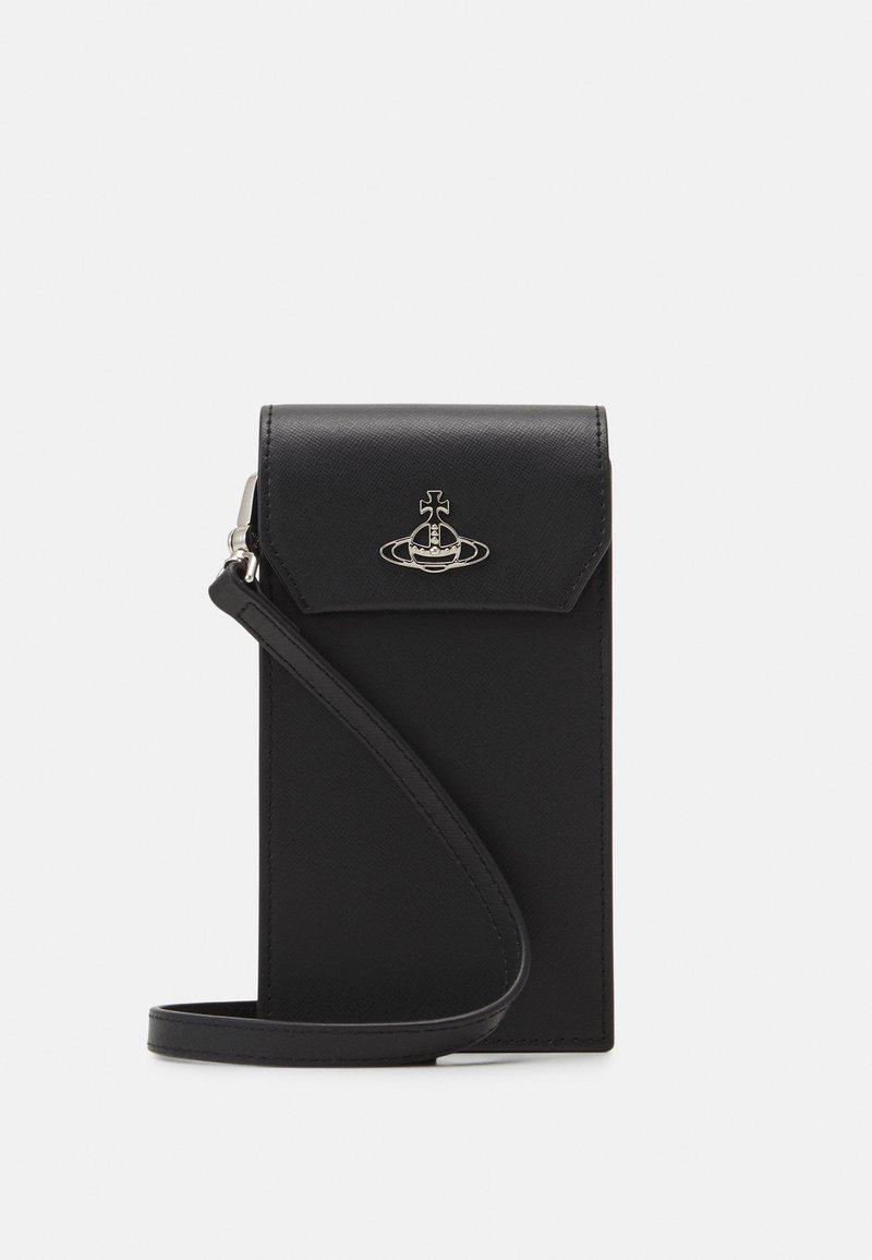 Vivienne Westwood - DEBBIE PHONE BAG UNISEX - Phone case - black