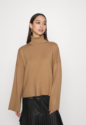 NMSHIP ROLL NECK - Maglione - tigers eye