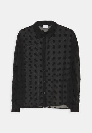 VIDOTSI - Button-down blouse - black