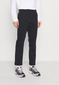 camel active - Modern - Trousers - navy - 0