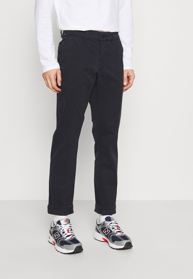 camel active - Modern - Trousers - navy