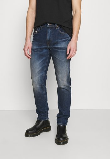 D-STRUKT - Jeans Skinny Fit - dark blue  denim