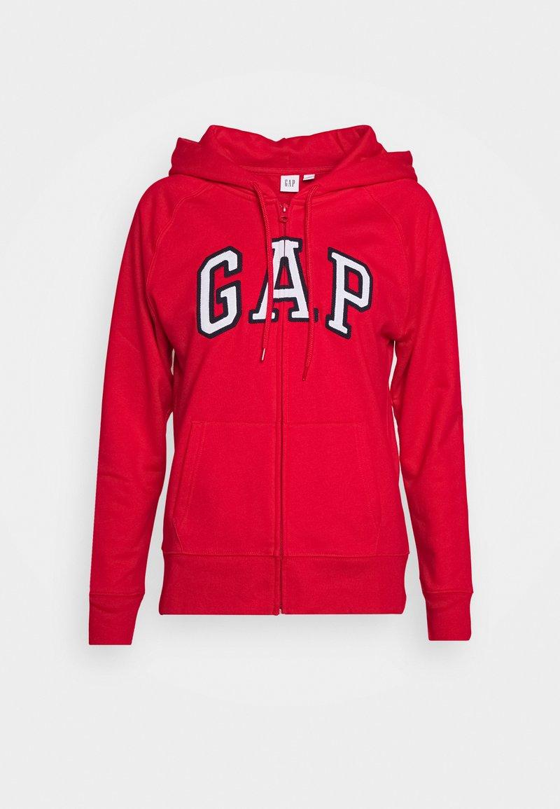 GAP - FASH - Zip-up hoodie - pure red