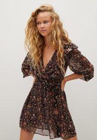 Mango - WINTER - Korte jurk - schwarz - 0
