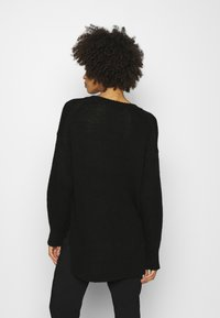Marc O'Polo - LONGSLEEVE ROUND NECK - Pullover - black - 2