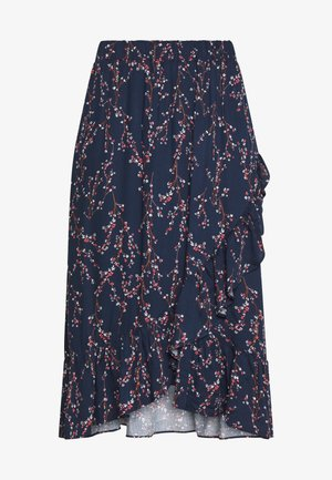 FRIPARTY SKIRT - A-line skirt - navy blazer