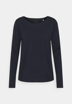 LONG SLEEVE ROUND NECK - Top s dlouhým rukávem - dark blue