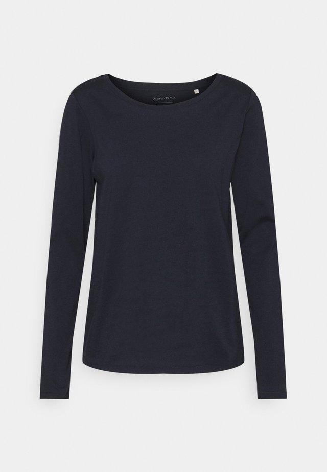 LONG SLEEVE ROUND NECK - Top sdlouhým rukávem - dark blue