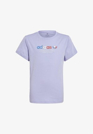 Camiseta estampada - purple