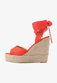 RAID - MARGARET - Sandály na vysokém podpatku - orange - 1
