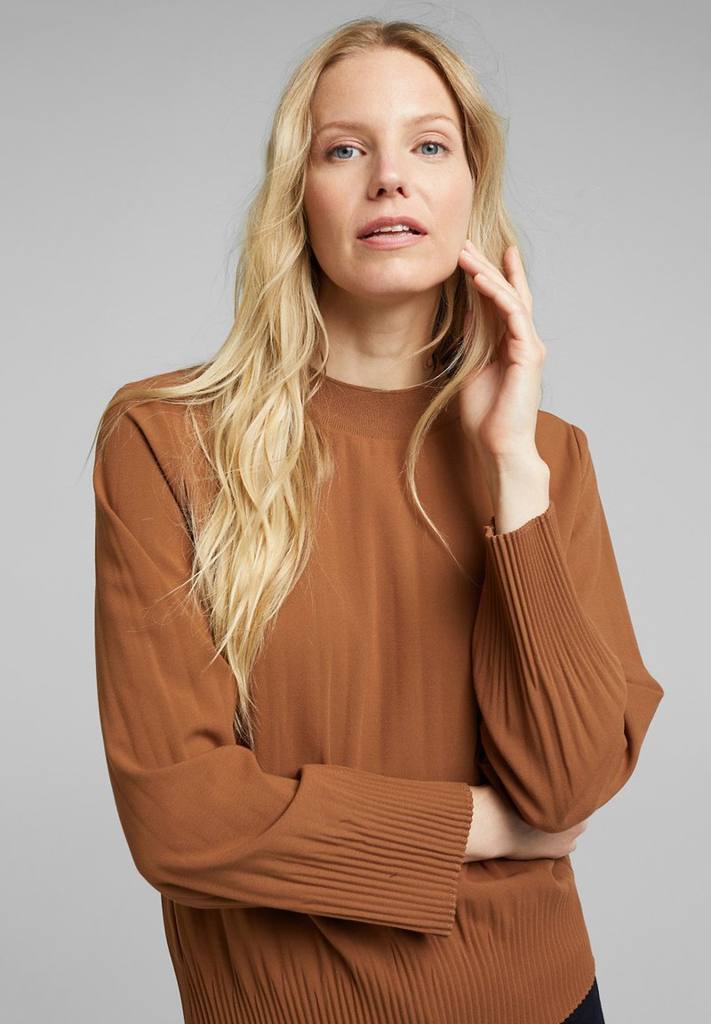 Esprit Collection - FASHION - Bluse - toffee