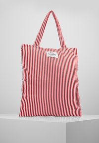 Mads Nørgaard - ATOMA - Tote bag - red/white - 0