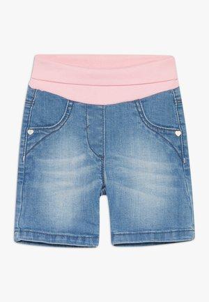 Denim shorts - late lunch