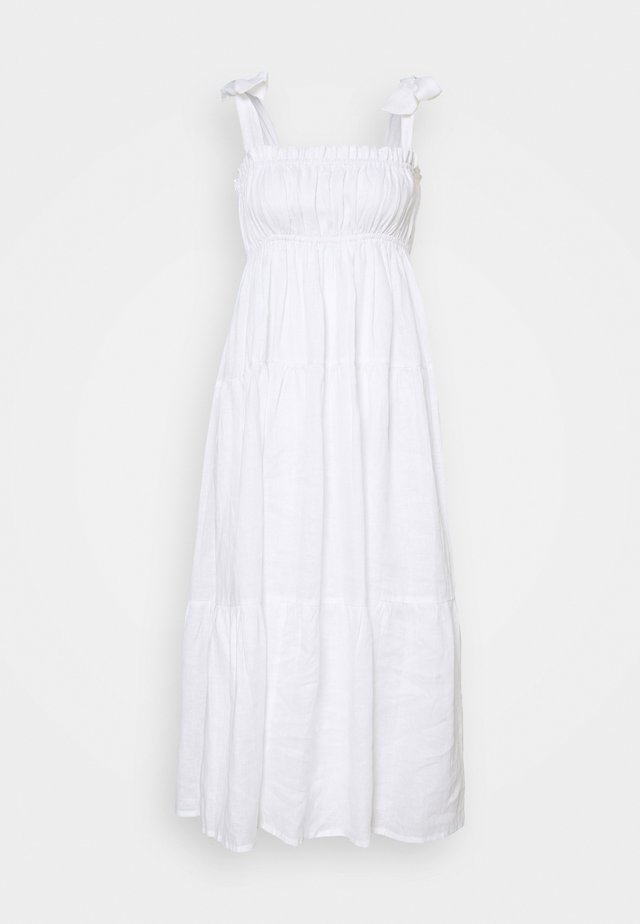 BELLAMY MIDI DRESS - Denní šaty - plain white