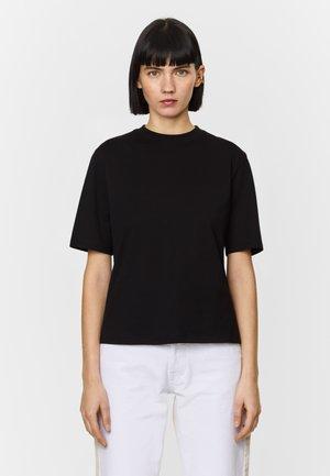 BOXY - T-shirt basic - black