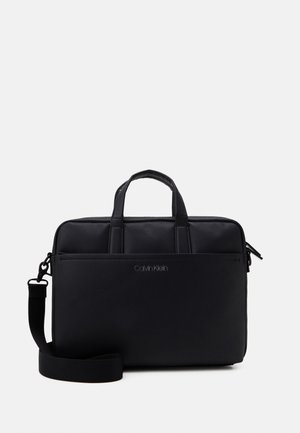 DIRECT SLIM LAPTOP UNISEX - Aktetas - black