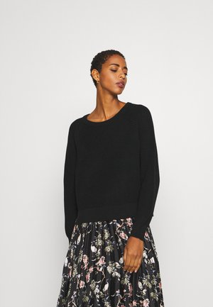 TINDRA - Pullover - black