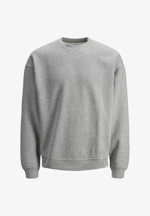 JORBRINK CREW NECK - Felpa - light grey melange