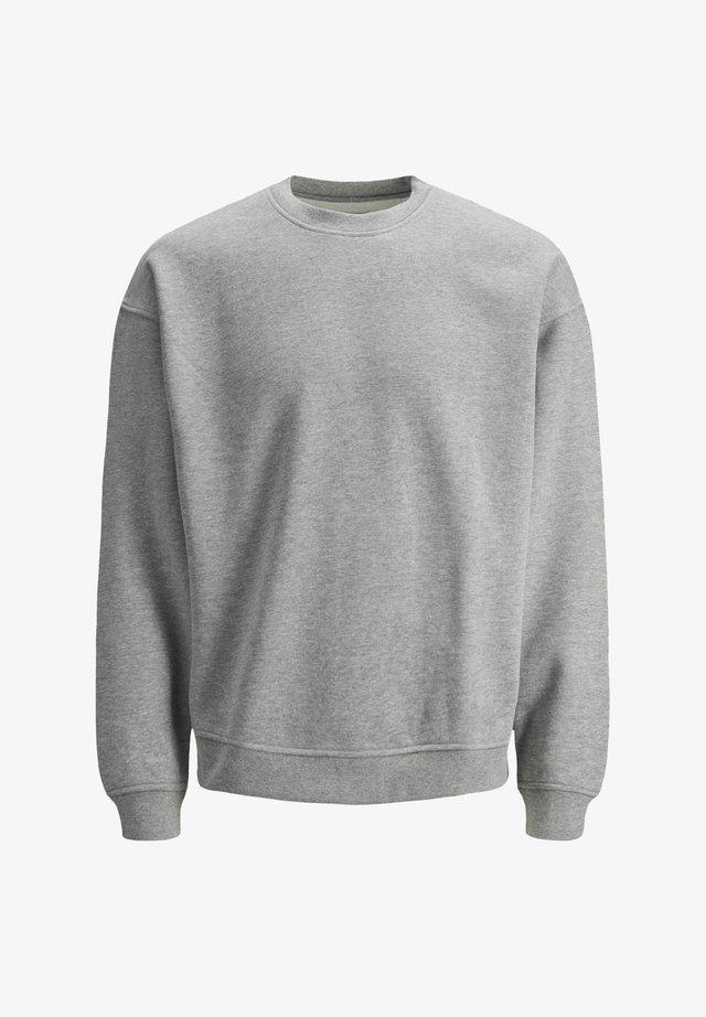 JORBRINK CREW NECK - Felpa - light grey melange