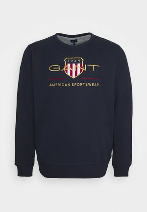 PLUS ARCHIVE SHIELD - Sweatshirt - evening blue