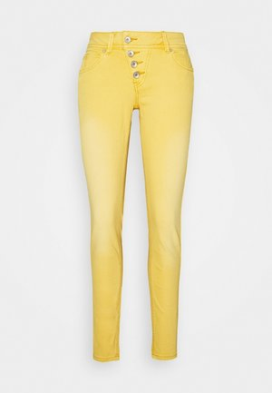 Slim fit jeans - ocker gelb