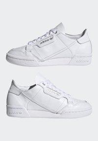 adidas Originals - CONTINENTAL 80 RECON  - Matalavartiset tennarit - footwear white/silver metallic - 7