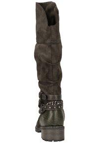Mustang - Cowboy/Biker boots - dunkelgrau 20 - 5