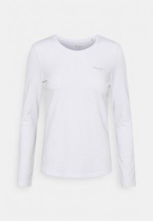 AMBERTA - Bluzka z długim rękawem - off white