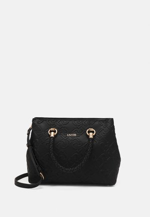 L SATCHEL  - Handbag - nero