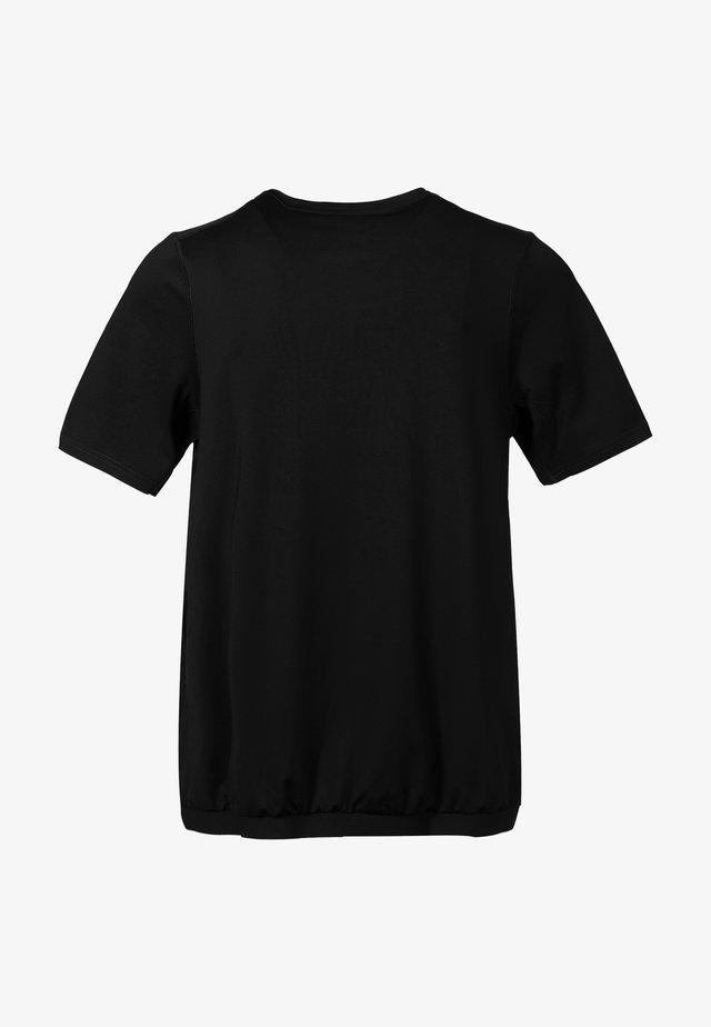 NELLA W SS  - Basic T-shirt - black