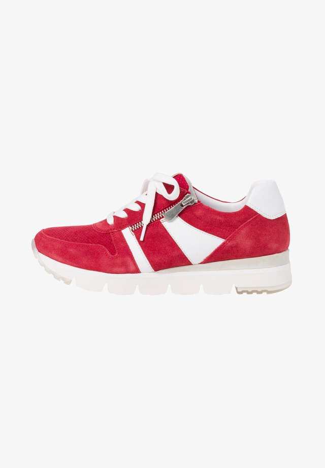 LACE-UP - Sneakers - red comb