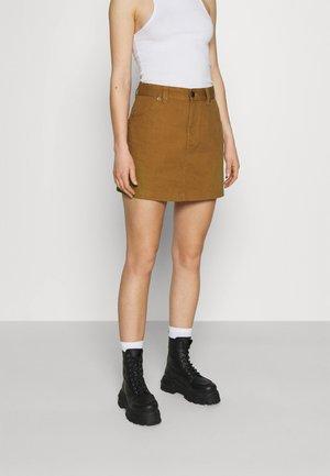 SHONGALOO - Mini skirt - brown duck