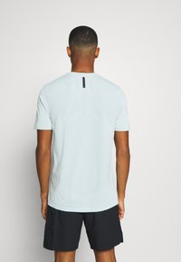 Under Armour - RUSH SEAMLESS FITTED - Sports shirt - enamel blue - 2