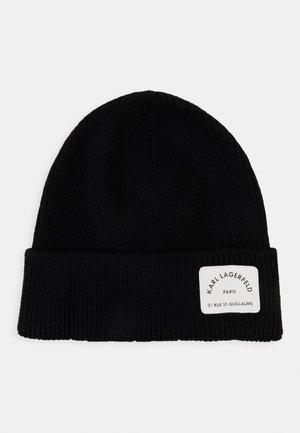 RUE ST GUILLAUME BEANIE - Bonnet - black