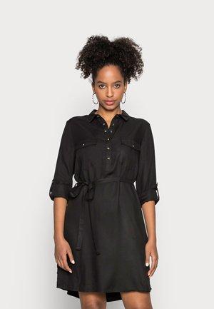 TAMMY LONG SLEEVE DRESS - Sukienka koszulowa - black