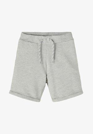 SWEATSHORTS BAUMWOLLE - Shorts - grey melange