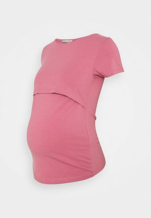 NURSING Basic T-shirt - Camiseta básica - pink