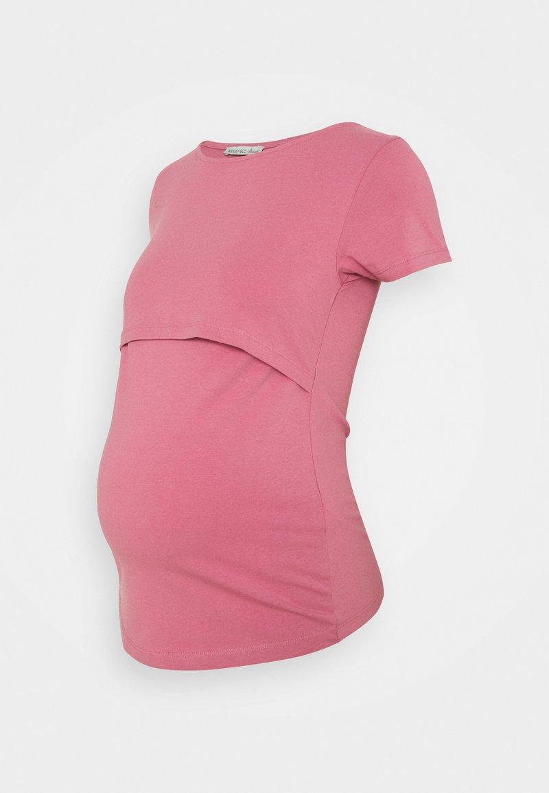 Anna Field MAMA - NURSING Basic T-shirt - T-shirt basic - pink